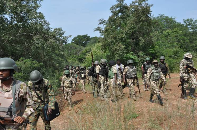 BREAKING: 150 bandits arrested, 2 killed, large arms recorvered ...