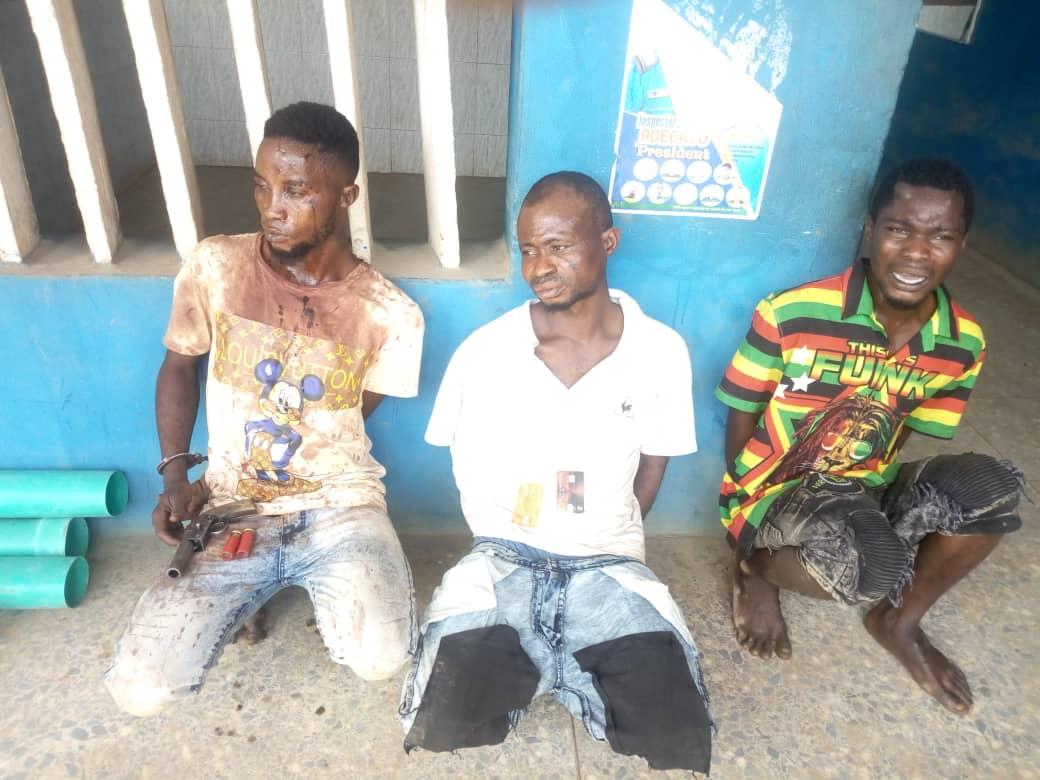 Lagos Police Arrest Ten Notorious Armed Robbers   Nigerian
