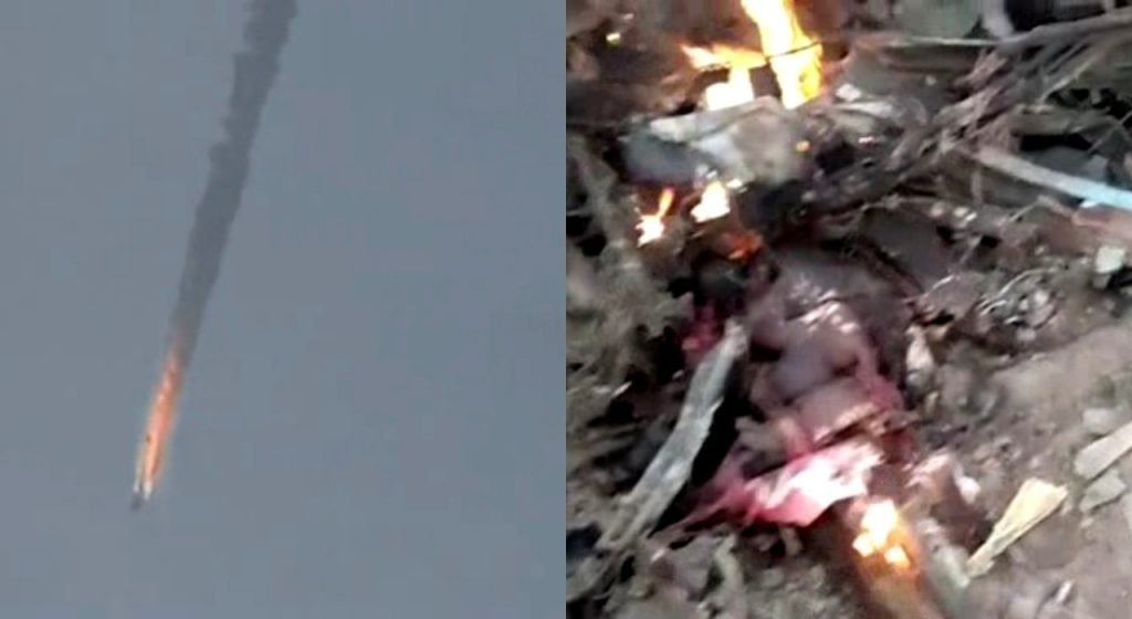 BREAKING: Boko Haram Releases Video of dead Air Force Pilot - claims responsibility for missing Air Force Jet;